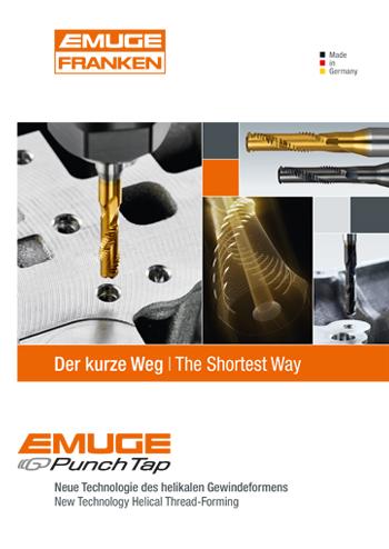 EMUGE Punch Tap - der kurze Weg